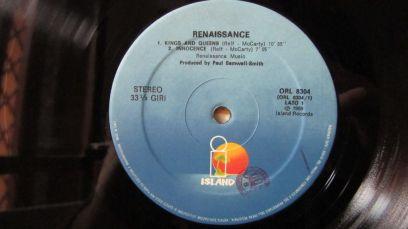 Renaissance Album Omonimo Lato 1
