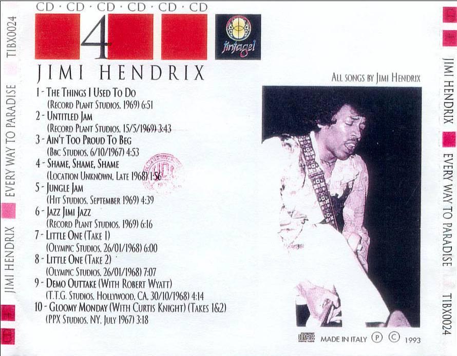 Jimi Hendrix, TTG Studios