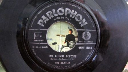 The Beatles The Night Before B Side