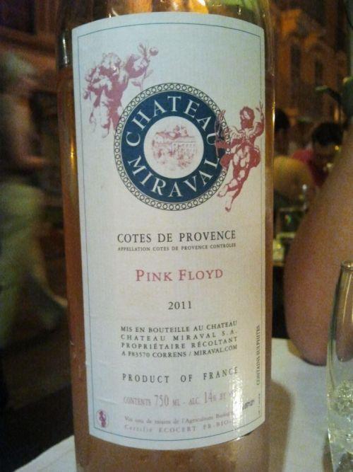 Pink Floyd Wine Chateau Miraval