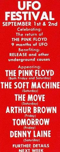 Festival UFO sept 1967