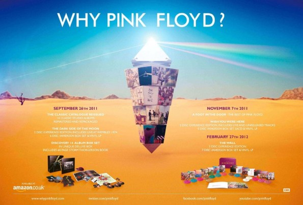 Catalogue Pink Floyd reprint