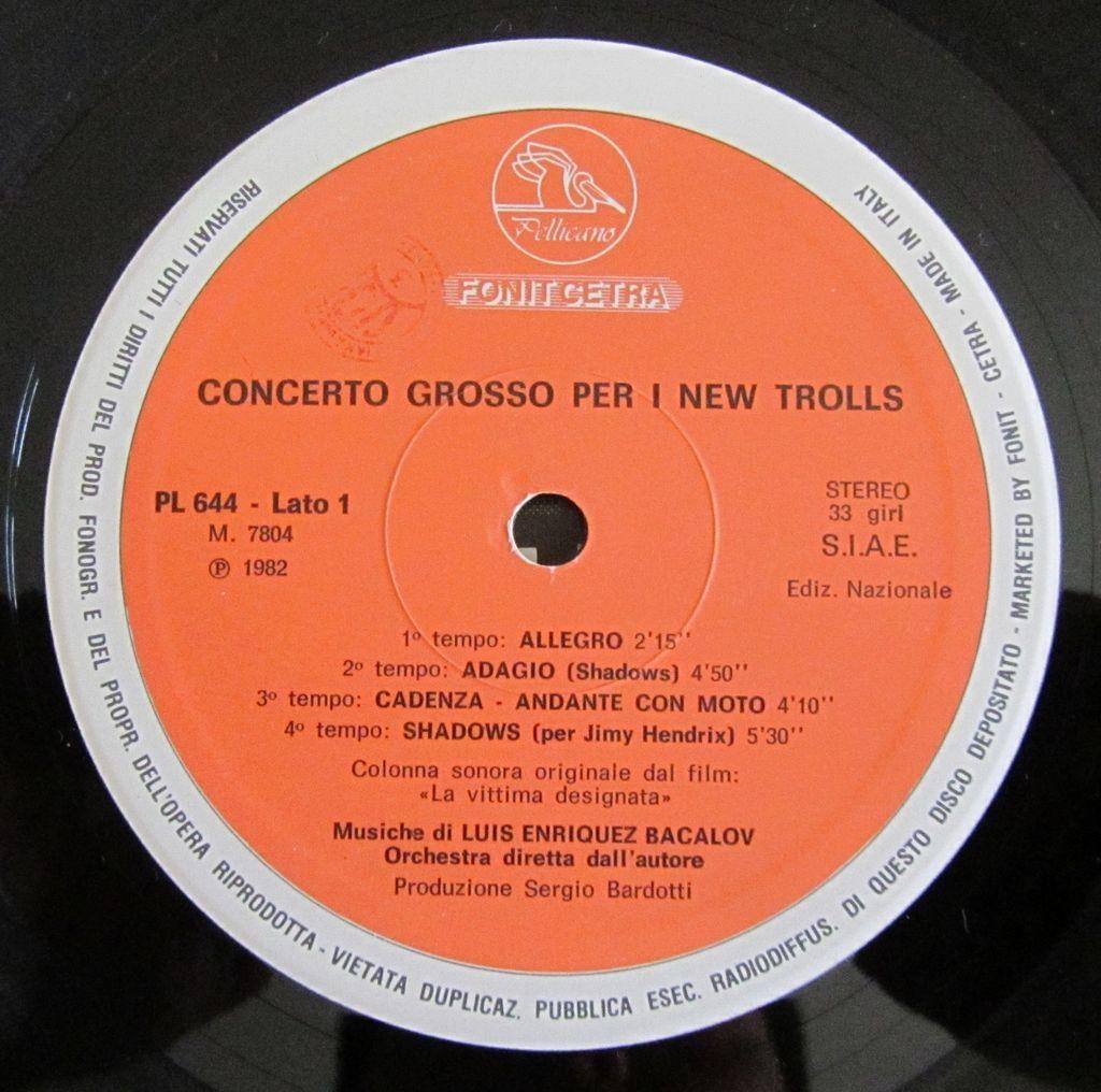 A Side, LP, Vinile, Vinyl, Etichetta