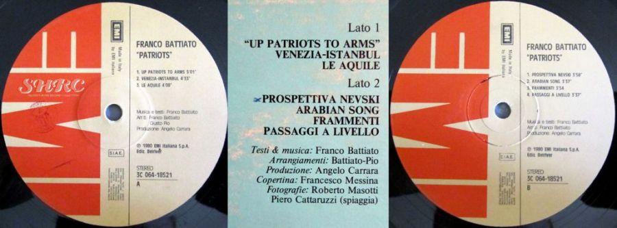LP di Franco Battiato