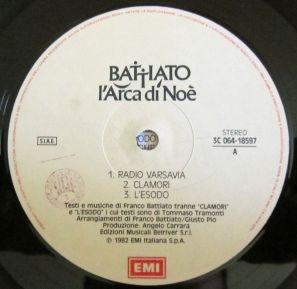Label etichetta anni 80