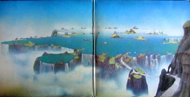 Yes, Roger Dean, LP Close to the edge