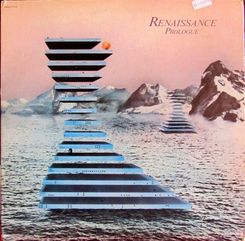 LP, Progressive, Vinyl cover, copertina, renaissance prologue, album del 1972