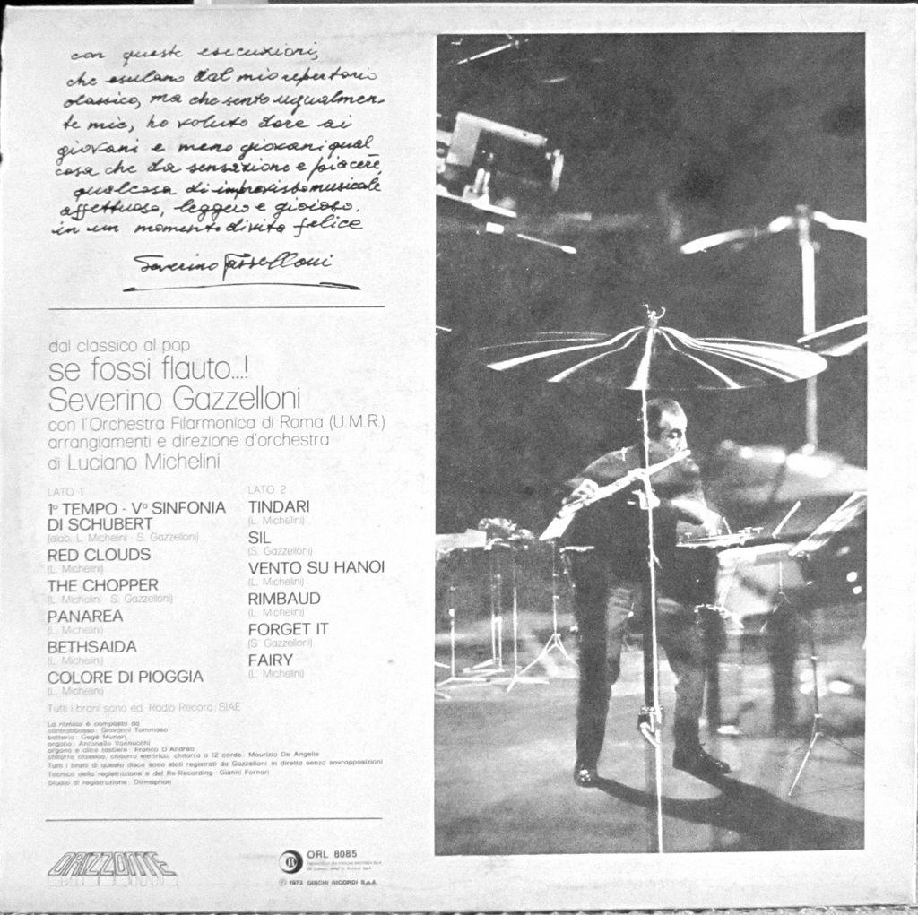 Gazzelloni - Se Fosse Flauto Album Retro