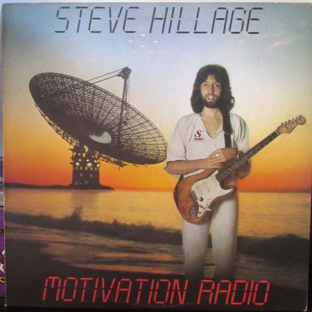 "Artwork, copertina, caratula, LP, 12"", Album steve hillage motivation radio"