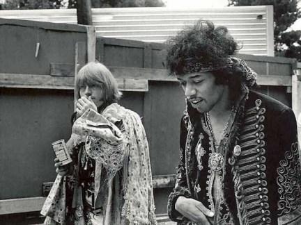 Jimi Hendrix & Brian Jones, altro membro del club 27