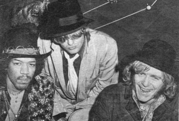 Jimi Hendrix Experience, Soft Machine, Eire Apparent
