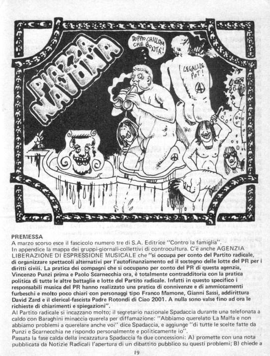 Stampa Alternativa Muzak Concerto Piazza Navona Roma