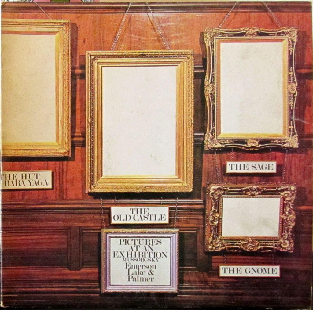 Emerson Lake Palmer LP Vinyl Cover Progressive Keith