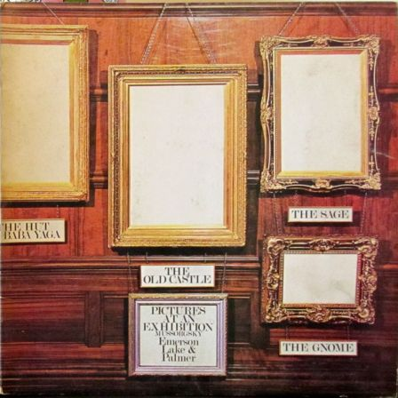 Emerson Lake Palmer LP Vinyl Cover Progressive Keith