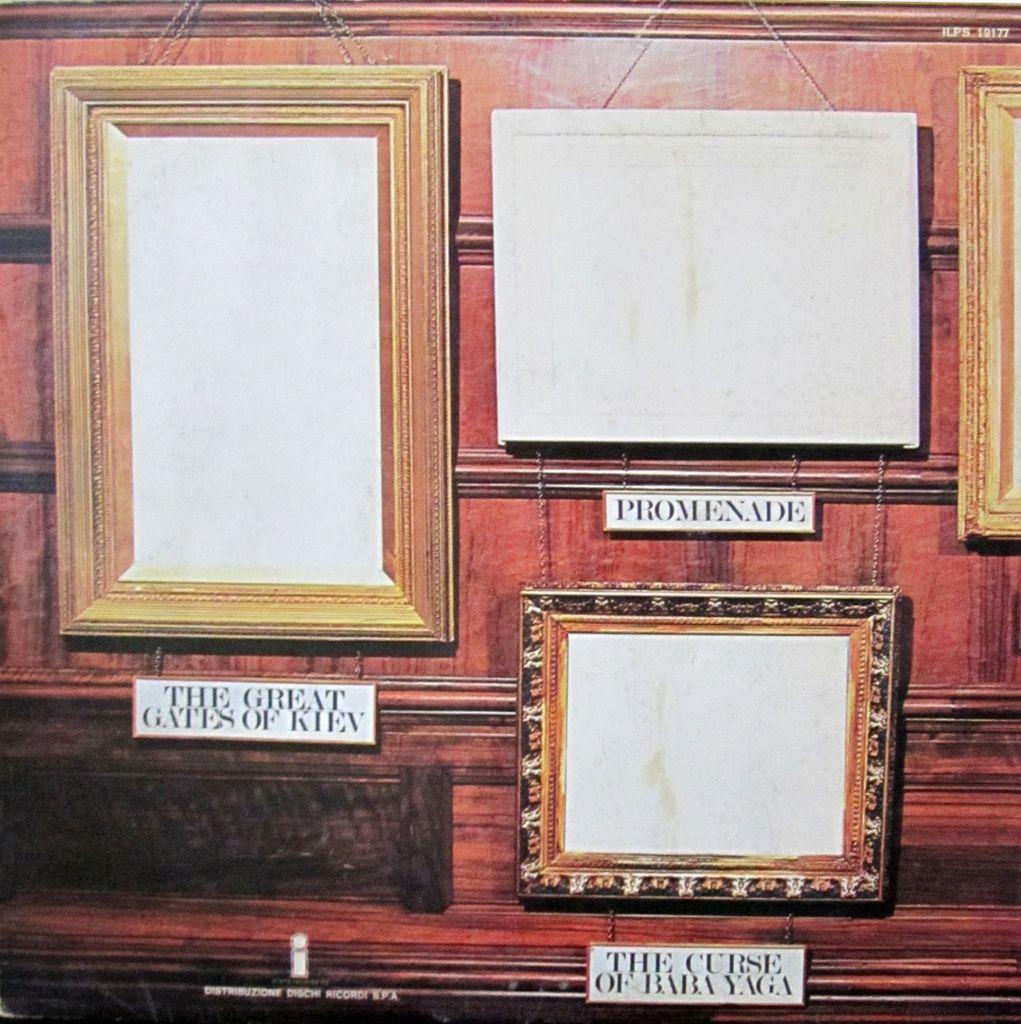 Prog, Vinyl, Seventies, ELP, Musorgskij