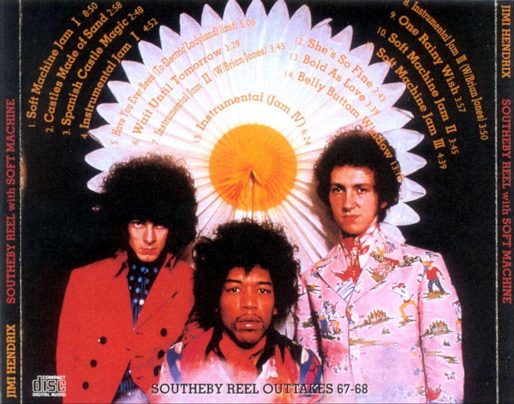 Soft Machine Jimi Hendrix Experience Fake Demo Outtakes