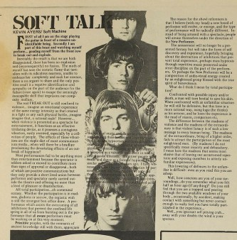 Soft Talk Kevin Ayers Soft Machine Robert Wyatt Andy Summers