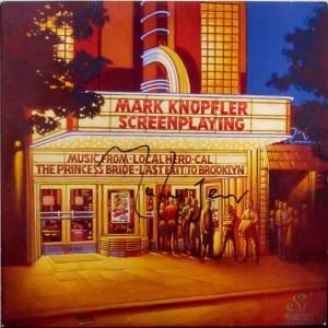 Mark Knopfler, Dire Straits signed memorabilia, Soundtrack, Cal, Local Hero