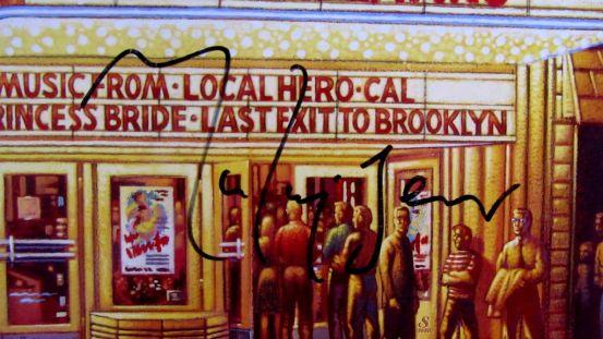 Dire Straits signed memorabilia, Knopfler, autografo
