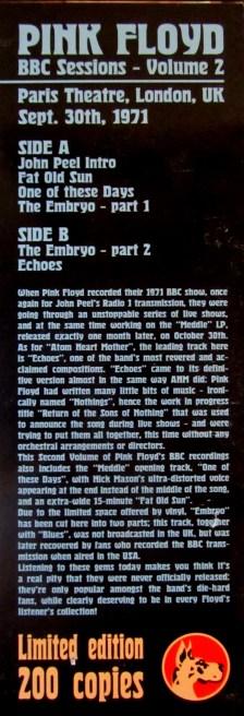 BBC Session Vol.2 credits