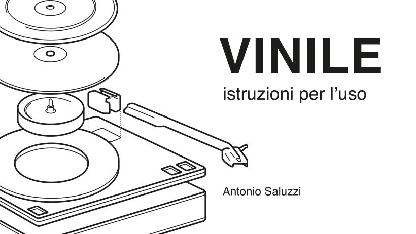 Libro Vinile Istruzioni per l'uso di Antonio Saluzzi Banner