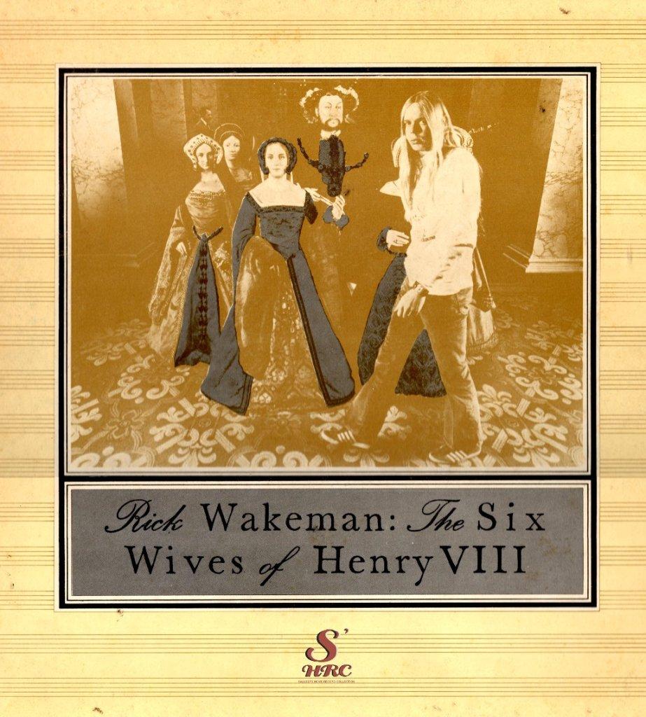 Wakeman - 6 mogli Fronte dischi solisti yes
