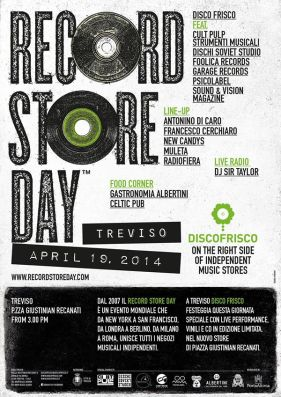 Record Store Day Disco Frisco Treviso