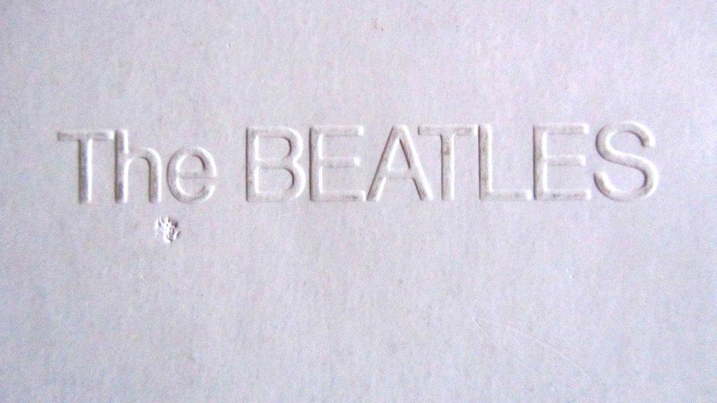 Beatles Embossed Cover white Album Beatles Pink Floyd