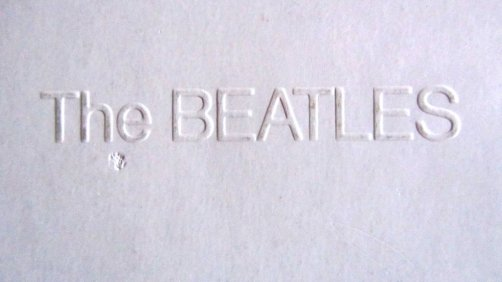 Beatles Embossed Cover white Album Beatles Pink Floyd