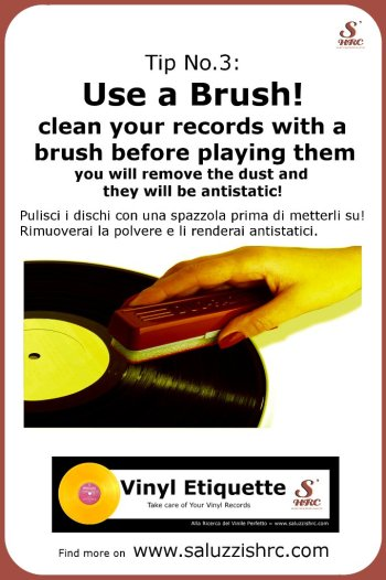 Vinyl Etiquette 3 Vinyl Brush