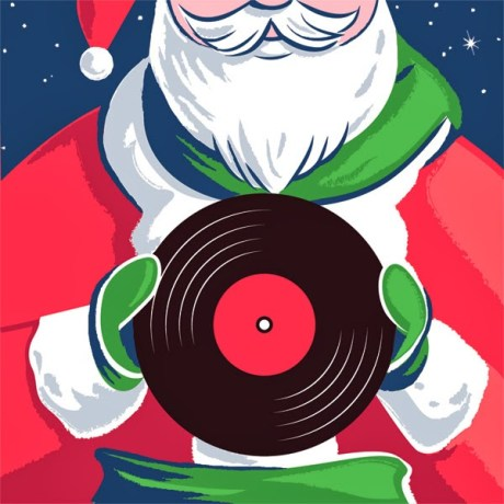 Babbo Natale ed i Vinili 2014 regali natale musicale