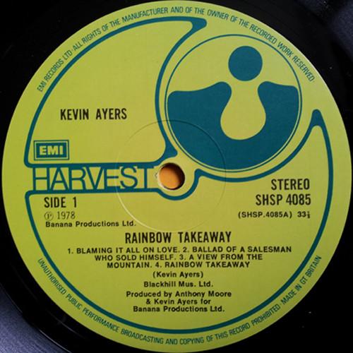 Kevin Ayers, vinile non inquinato