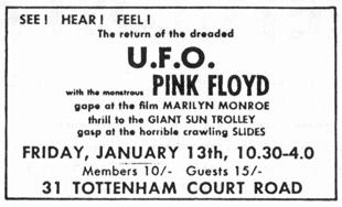 pink floyd ufo club