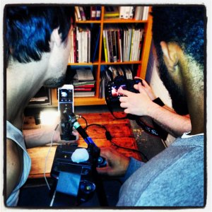 boys filming