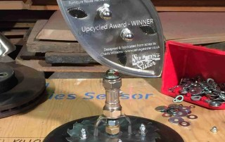 trophy-made-from-salvaged-metal