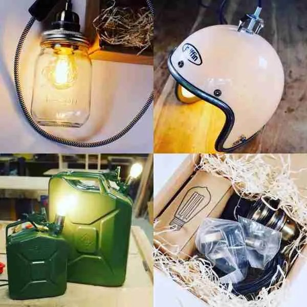 Turn anything into a lamp with this DIY lamp making kit