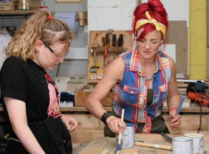 upcycling workshops in Sussex
