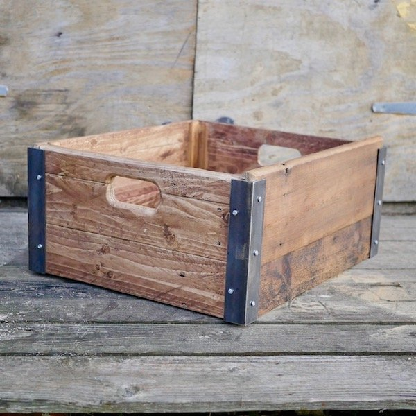 make a wooden box from scratch