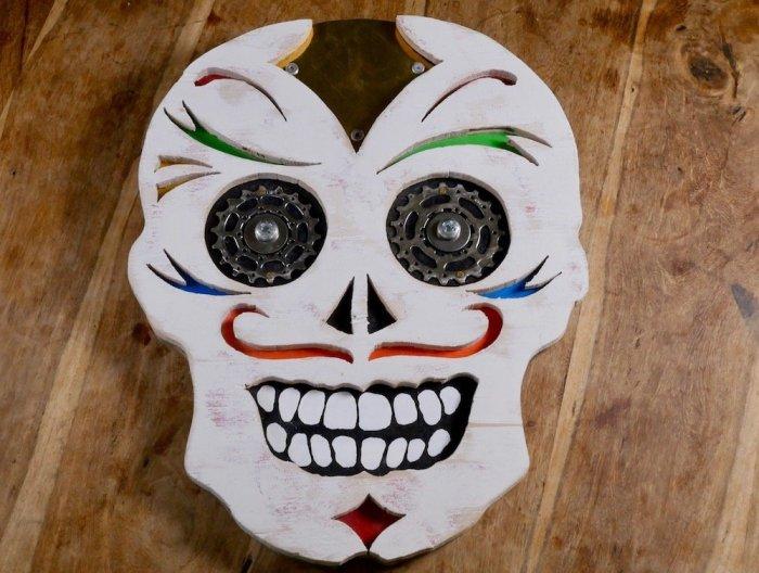 Handcrafted sugar skull