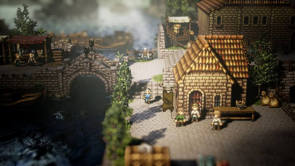 Octopath Traveler PC classificação
