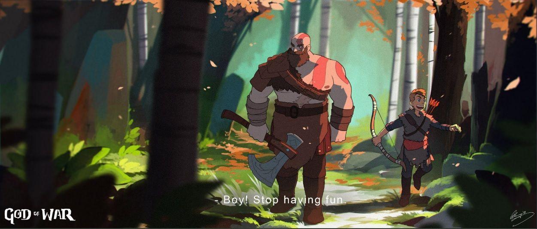 God Of War Ghibli