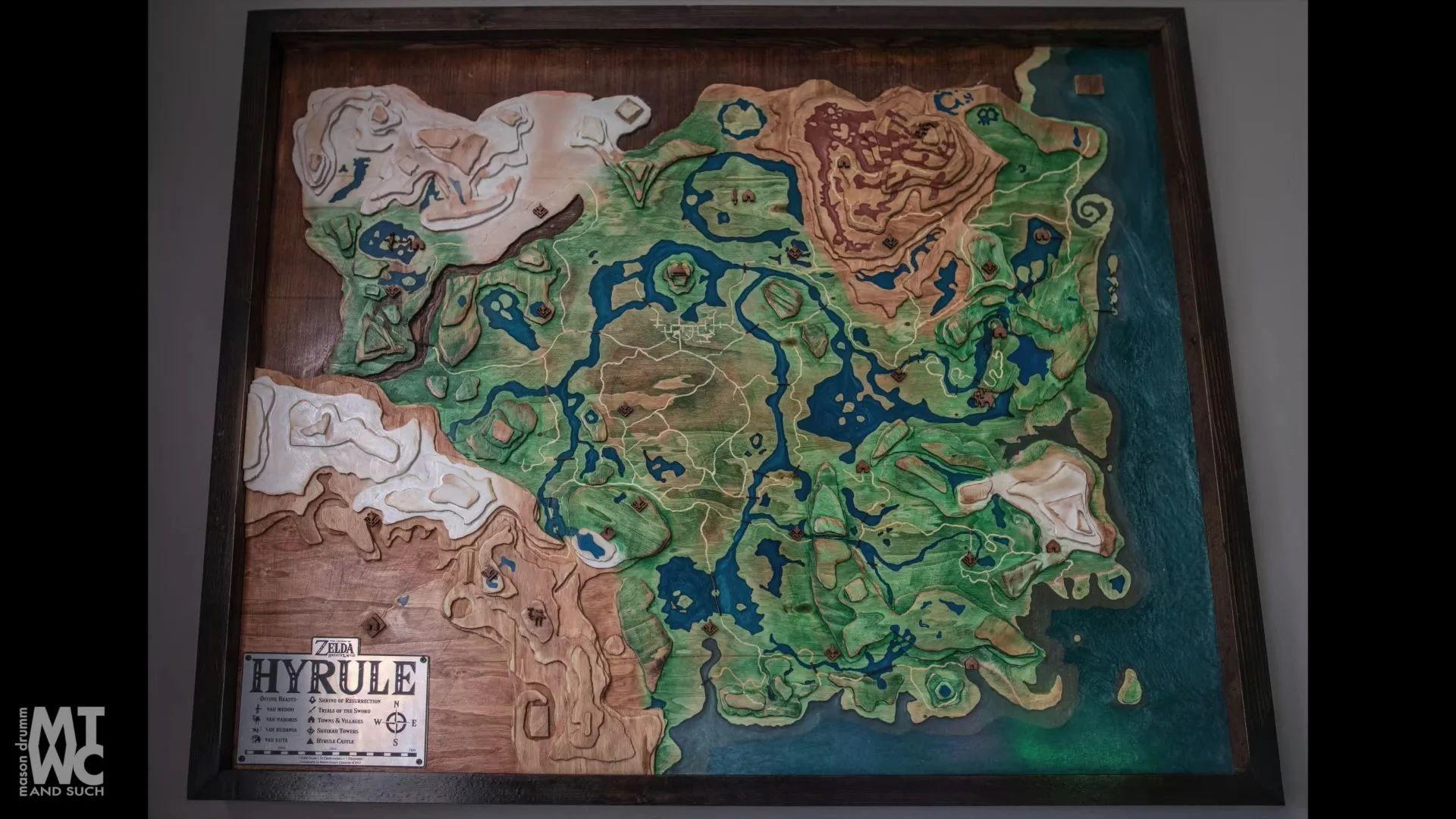 mapa Hyrule