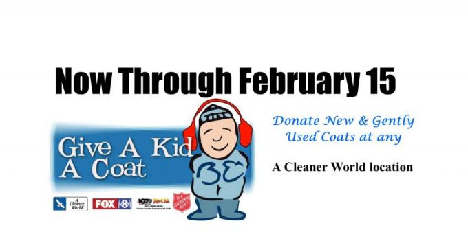 The 32nd Annual Give A Kid A Coat Is Here The Salvation Army Of Winston Salem