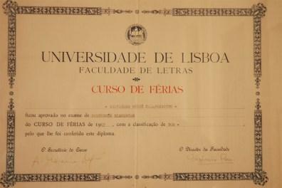 Diploma Univ. di Lisbona