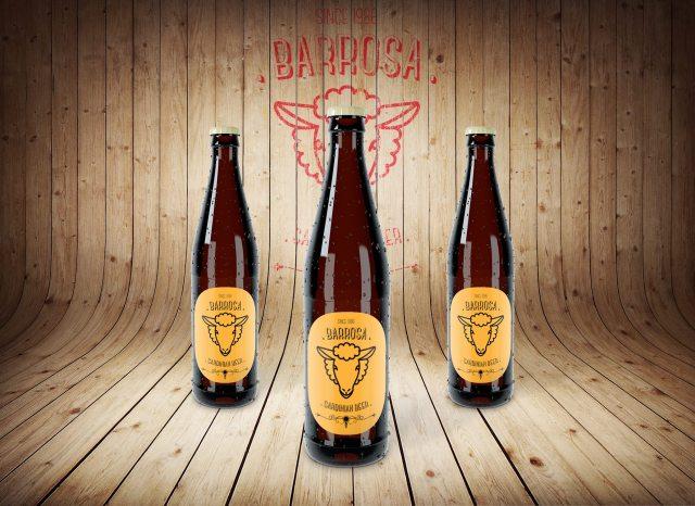 Progetto logo Barrosa Beer