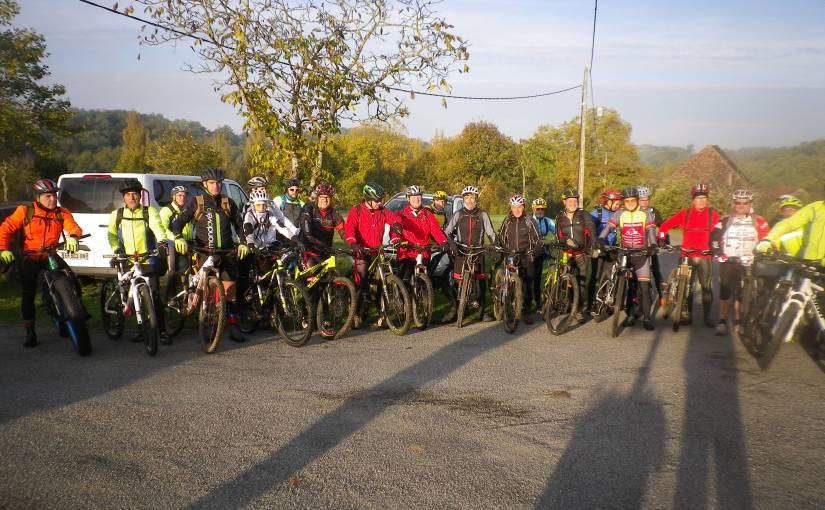 Photos de notre sortie avec Gourdon à Prouillac 04/11/18