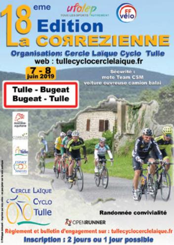 18e Edition se la Corrézienne 07/06/19