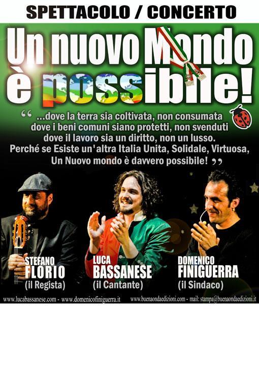 Luca Bassanese cantante ed anima di un mondo che si muove  wwwsalviamoilpaesaggioit