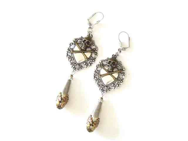 statement pirate earrings