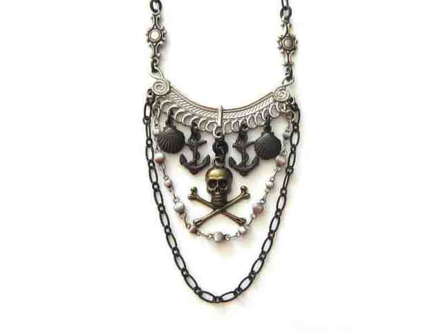 pirate necklace for women